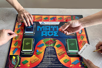 Fun Boardgame and Test Your Math Skills with Math Ace by Ace Advance Games (Short Review)