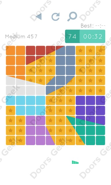 Cheats, Walkthrough for Blocks and Shapes Medium Level 457