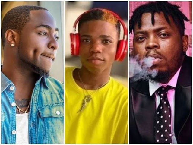 "Davido Slams Olamide For Claiming That He Helped ""Lyta"""