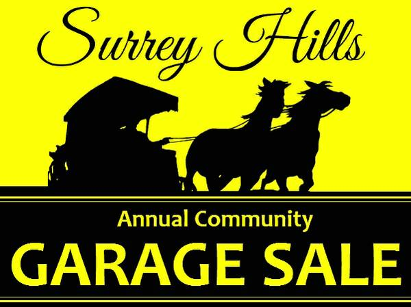 Annual Oklahoma City Surrey Hills Community Garage Sale