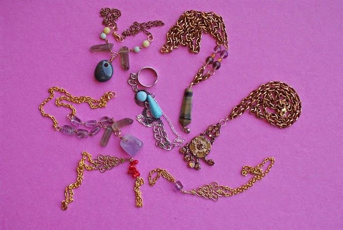 handmade jewelry stones necklace bracelet