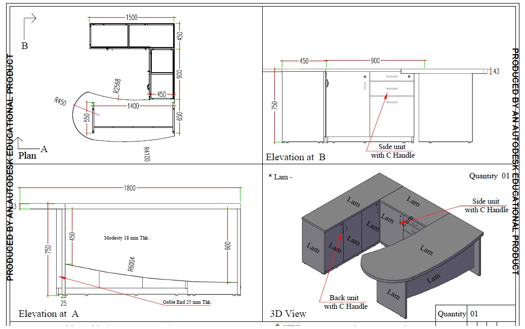 Furniture Drawing Benefits Of In Modular World