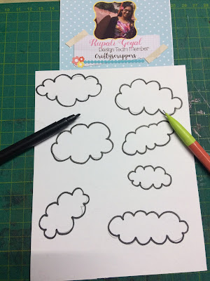 Doodled Clouds
