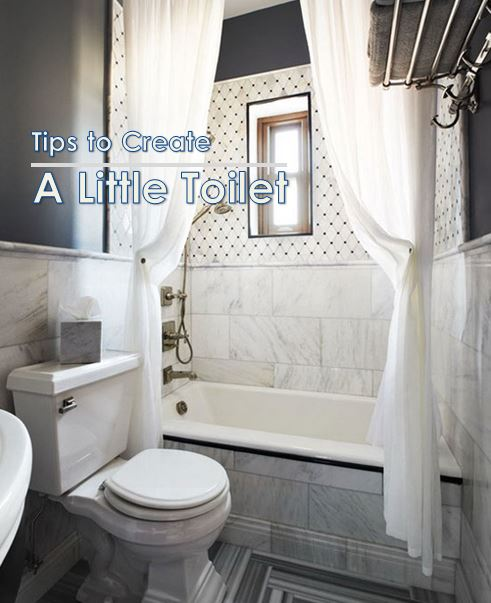 5 Tips to Create A Little Toilet Look Massive