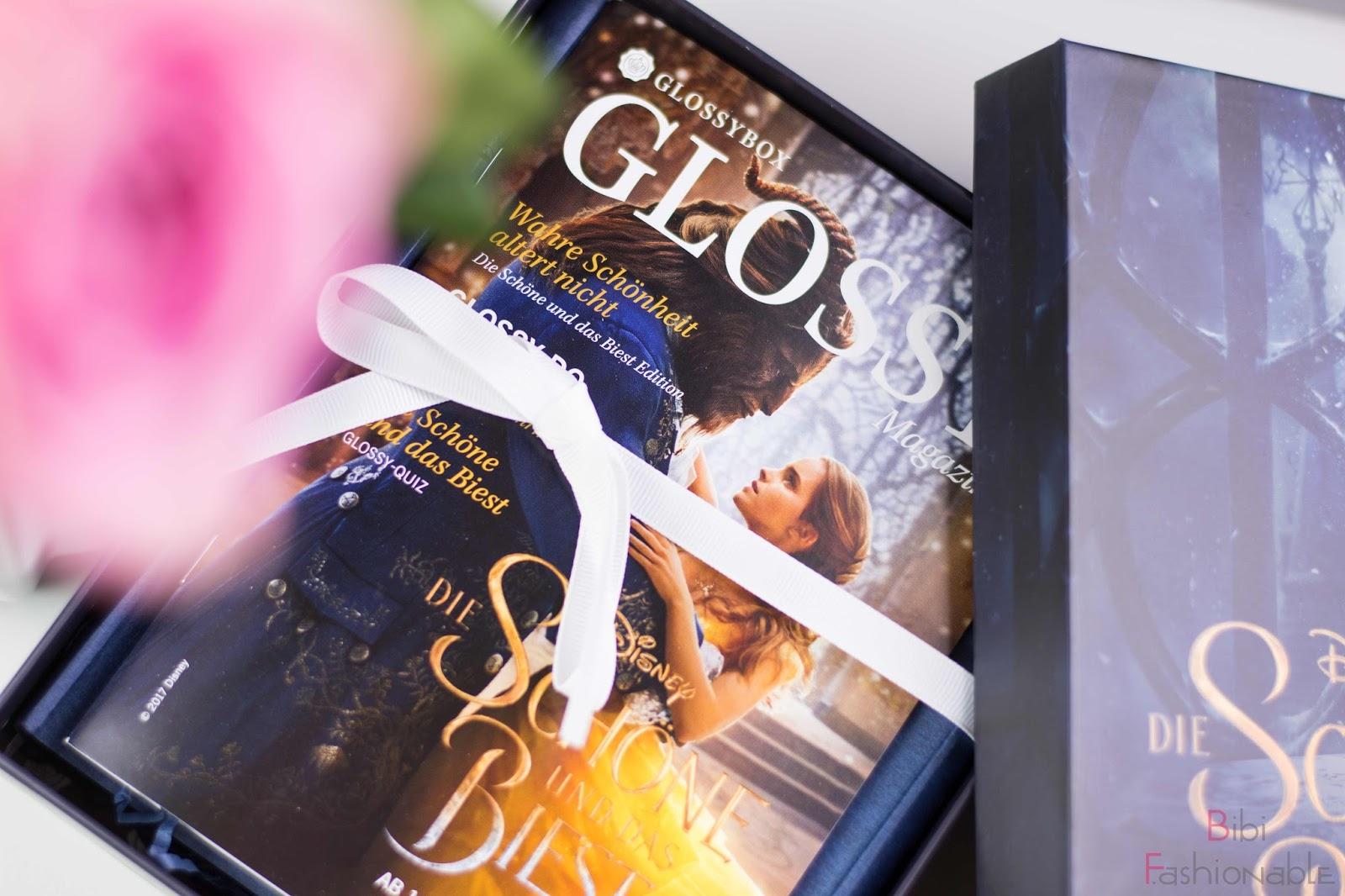 Unboxing Glossybox die Schöne und das Biest Glossy Magazin