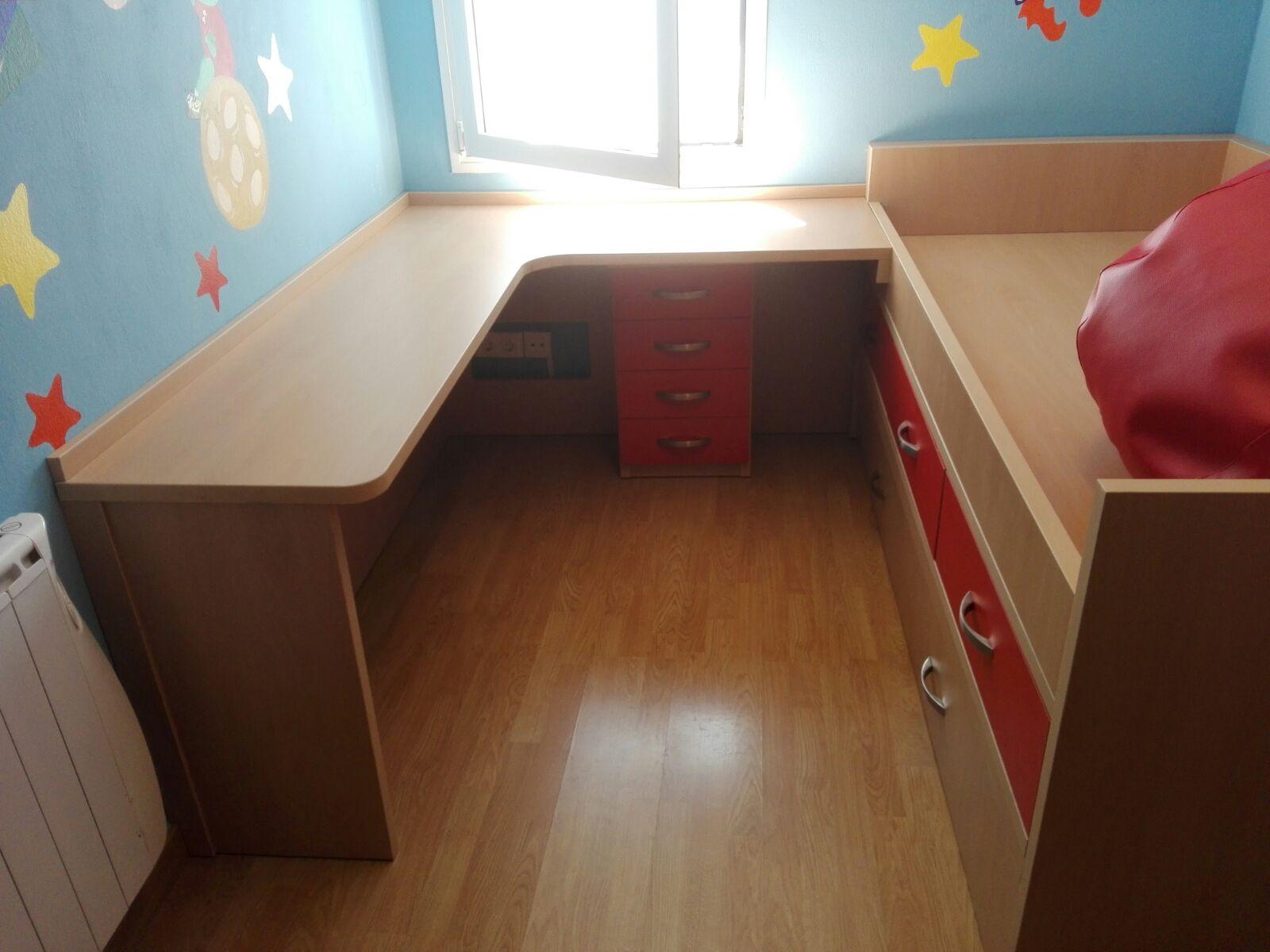 Nea Muebles A Medida Habitacion Juvenil Ah 4224  # Nea Muebles A Medida