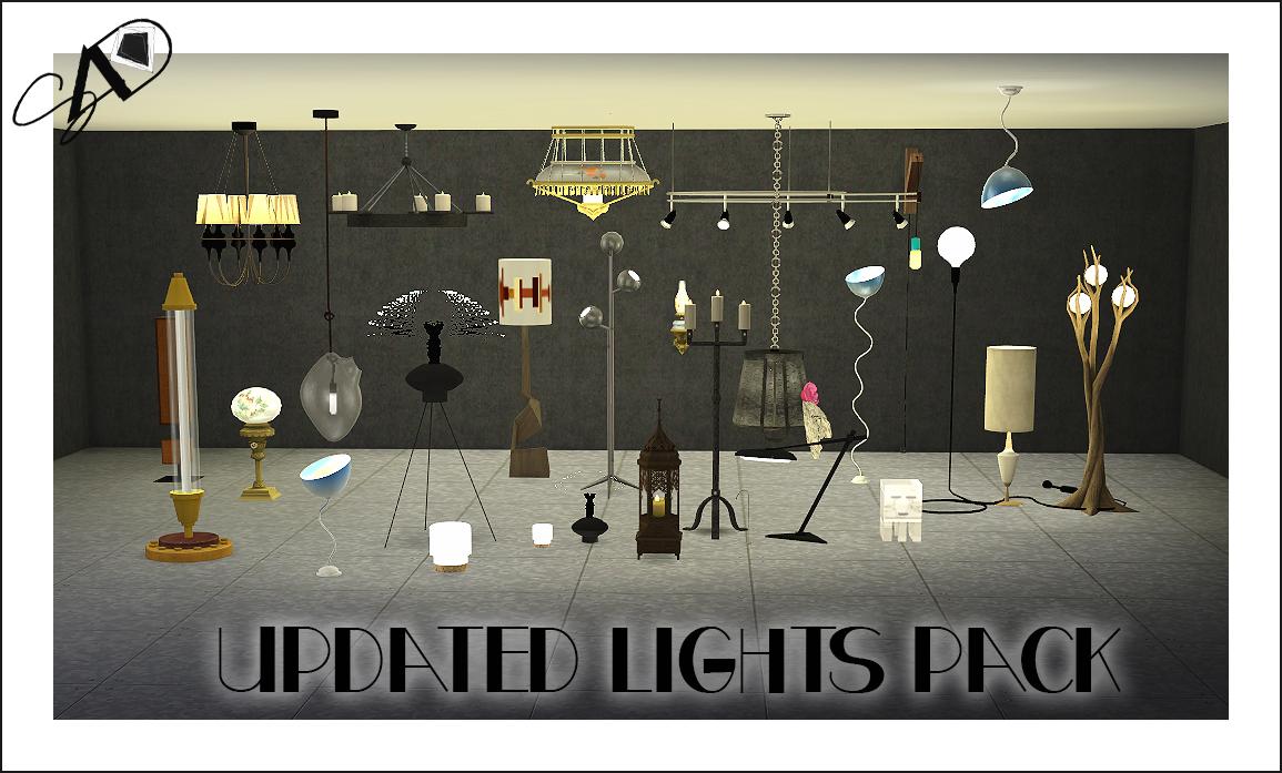 Sims 4 Lighting Cc