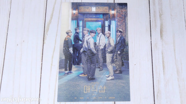 BTS 5th Muster Blu-Ray | Lenticular Invitation Card