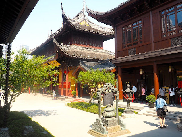 Jade Buddha Temple, Shanghai, China