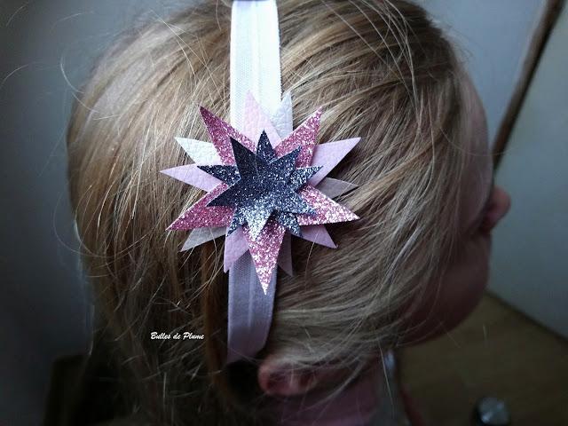 DIY Headband bandeau étoiles