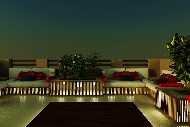 Villa Terrace - Palm Jumeriah