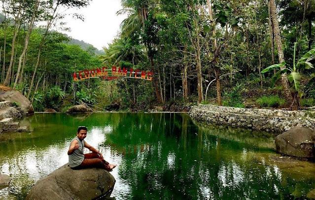 Kedung Banteng Kulon Progo, Sensai Pemandian Alami