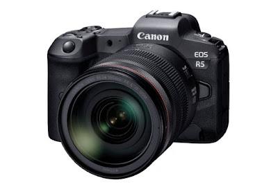 Development of the Canon EOS R5 Full-Frame Mirrorless Camera
