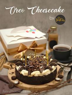 SayChiz 20cm Oreo Cheesecake