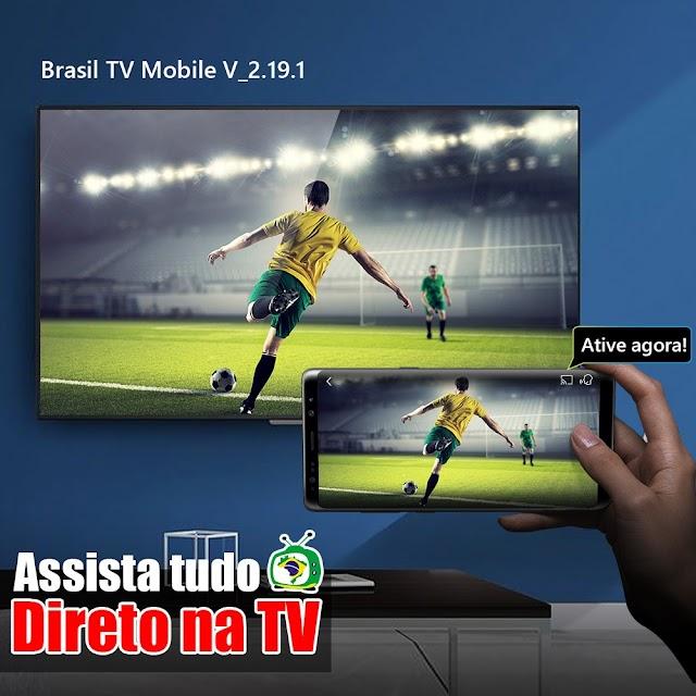 Atualização APLICATIVO BRASILTV MOBILE V2.19.1 - 09/12/2020