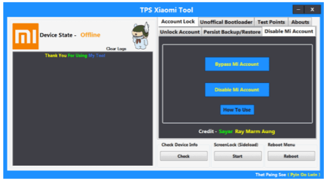 -Download TPS Xiaomi Tool