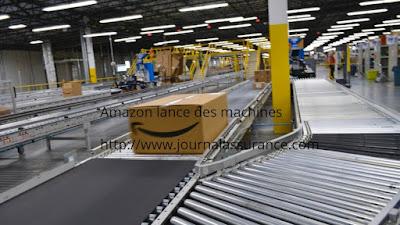 Amazon lance des machines