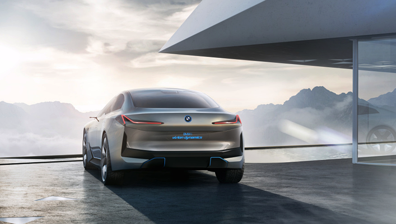 2020 BMW i Vision Dynamics Concept four-door Electric Saloon