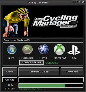 Pro Cycling Manager 2016 Key Generator (Free CD Key)