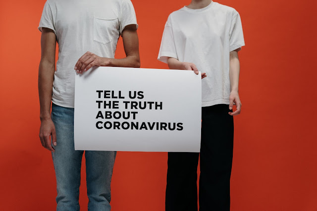 STAY HOME SAFE LIVES - TELL US THE TRUTH ABOUT CORONA VIRUS