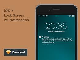 iOS 7 HI Lockscreen Parallax
