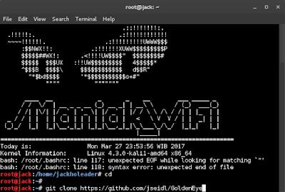 DDoS Attack dengan Golden Eye di Kali Linux