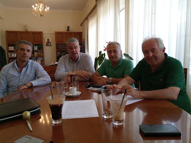 Συνάντηση με τον Περιφερειάρχη Ηπείρου είχαν οι Πρόεδροι των Επιμελητηρίων Πρέβεζας, Άρτας και Θεσπρωτίας