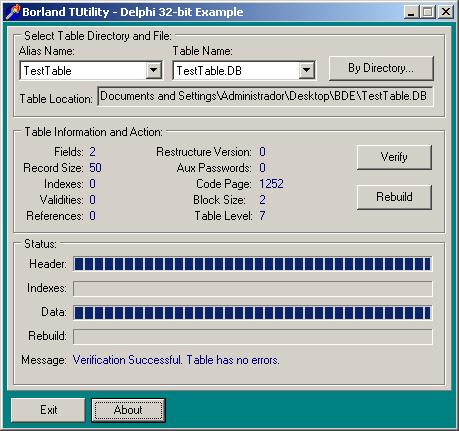 Delphi Database Connection