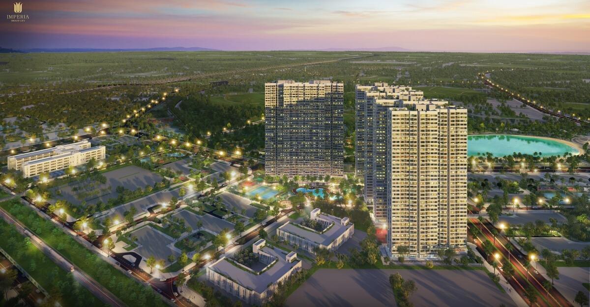 Toàn cảnh dự án Imperia Smart City Tây Mỗ