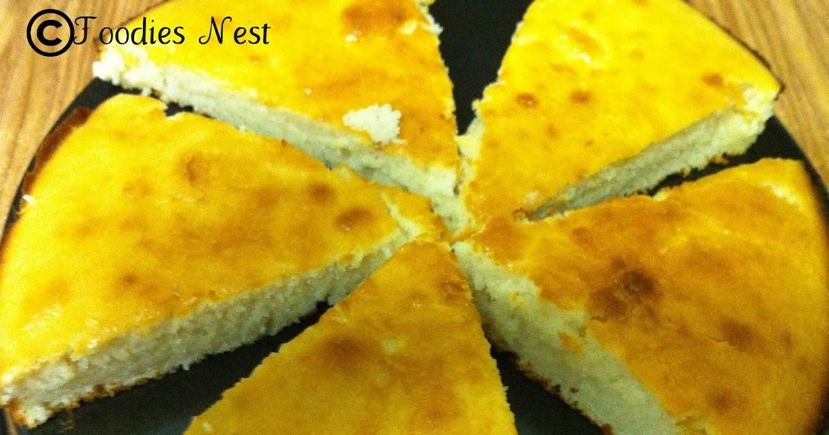 Sponge Cake Using Oil
