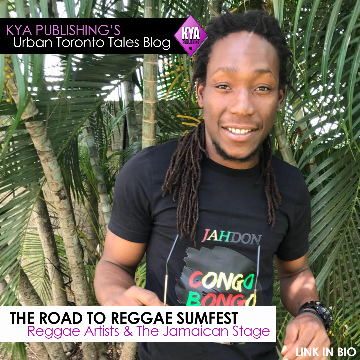 Kya Publishing's URBAN TORONTO TALES: Reggae Artists and the Road to
