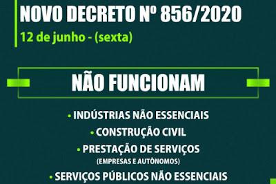 Decreto 856/2020 da covid-19 em Maringá. Café com Jornalista