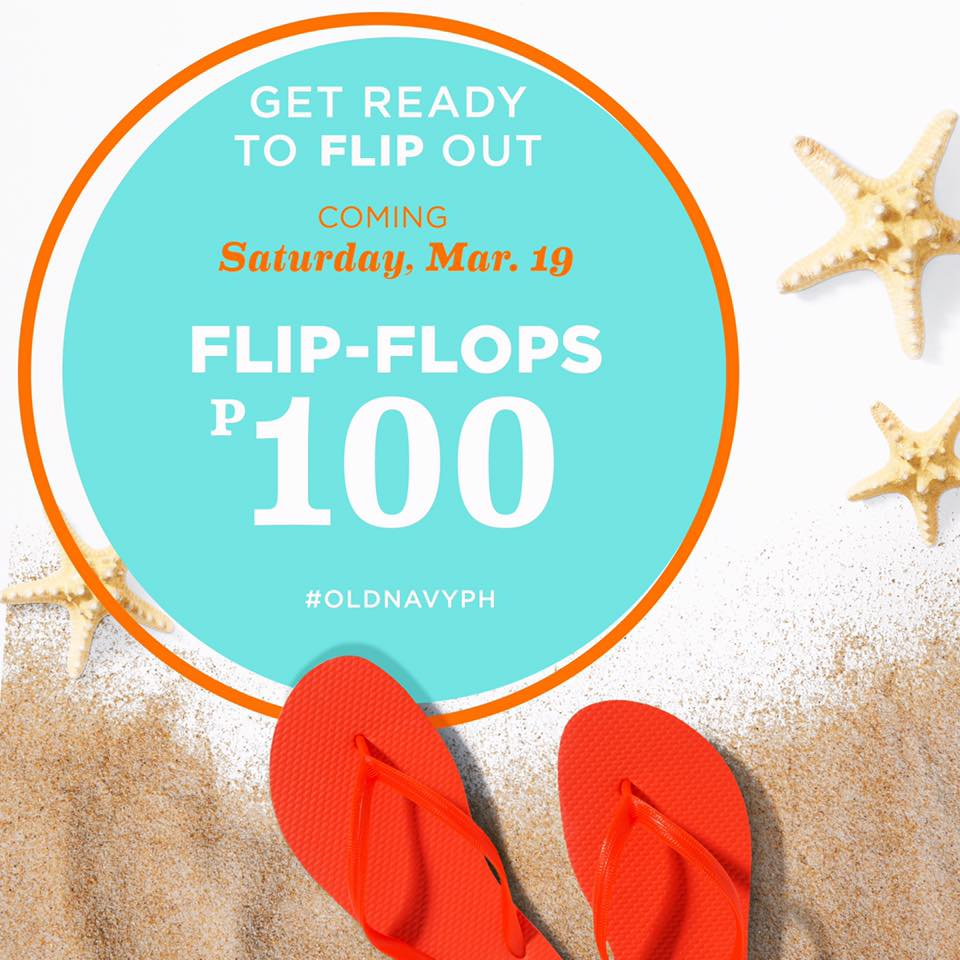 710464a4446e7 Get ready to flip out! Check out Old Navy s Flip Flop One-day SALE on March  19