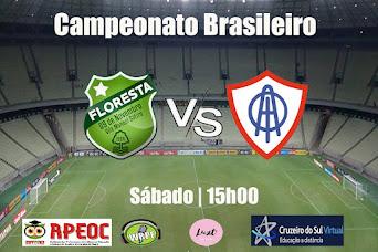 Campeonato Brasileiro D | Floresta 2 x 1 Itabaiana. Confira os Gols !