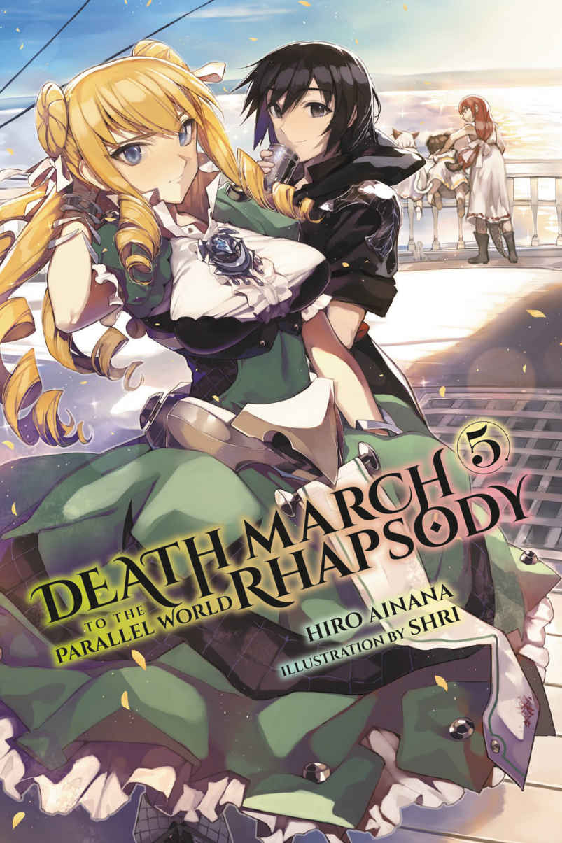 Death March to the Parallel World Rhapsody Ilustrações Lightnovel Volume 05