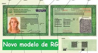 Novo modelo de RG já pode ser emitido em todos postos Poupatempo de SP