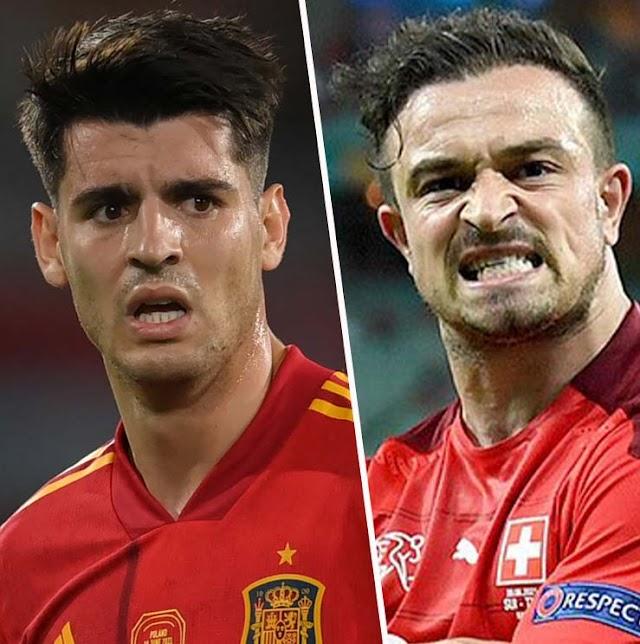 Prediksi Swiss vs Spanyol, Live Euro Hari Ini Jumat 2 Juli