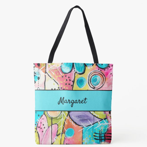 All over print totes from melrose originals