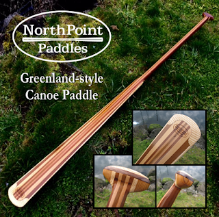 NorthPoint Paddles - Greenland-style Canoe Paddle