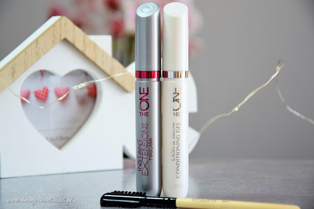 The One Instant Extensions Mascara i Conditioning Gel Lash & Brow - Oriflame.