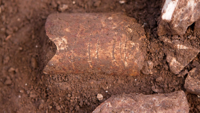 120,000-year-old bone etchings believed to be among oldest evidence of human use of symbols