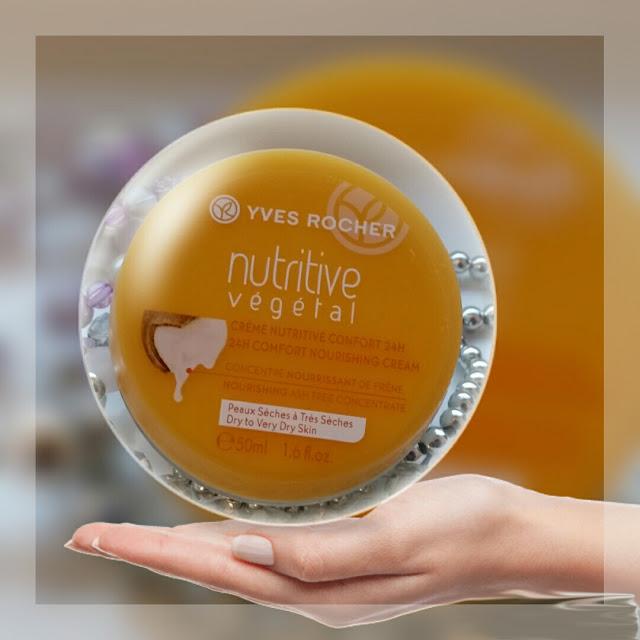 yves rocher 24h comfort nourishing cream recenzja