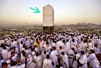 Jutaan orang yang berbondong-bondong ingin berdo'a