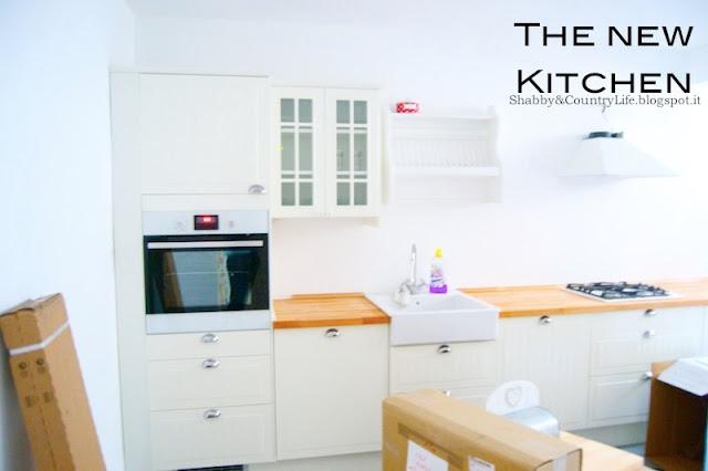 Shabby country life come progettare una cucina ikea for Progettare con ikea
