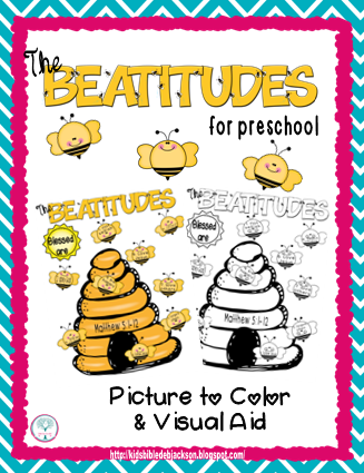 Bible Fun For Kids The Beatitudes Preschool Printables