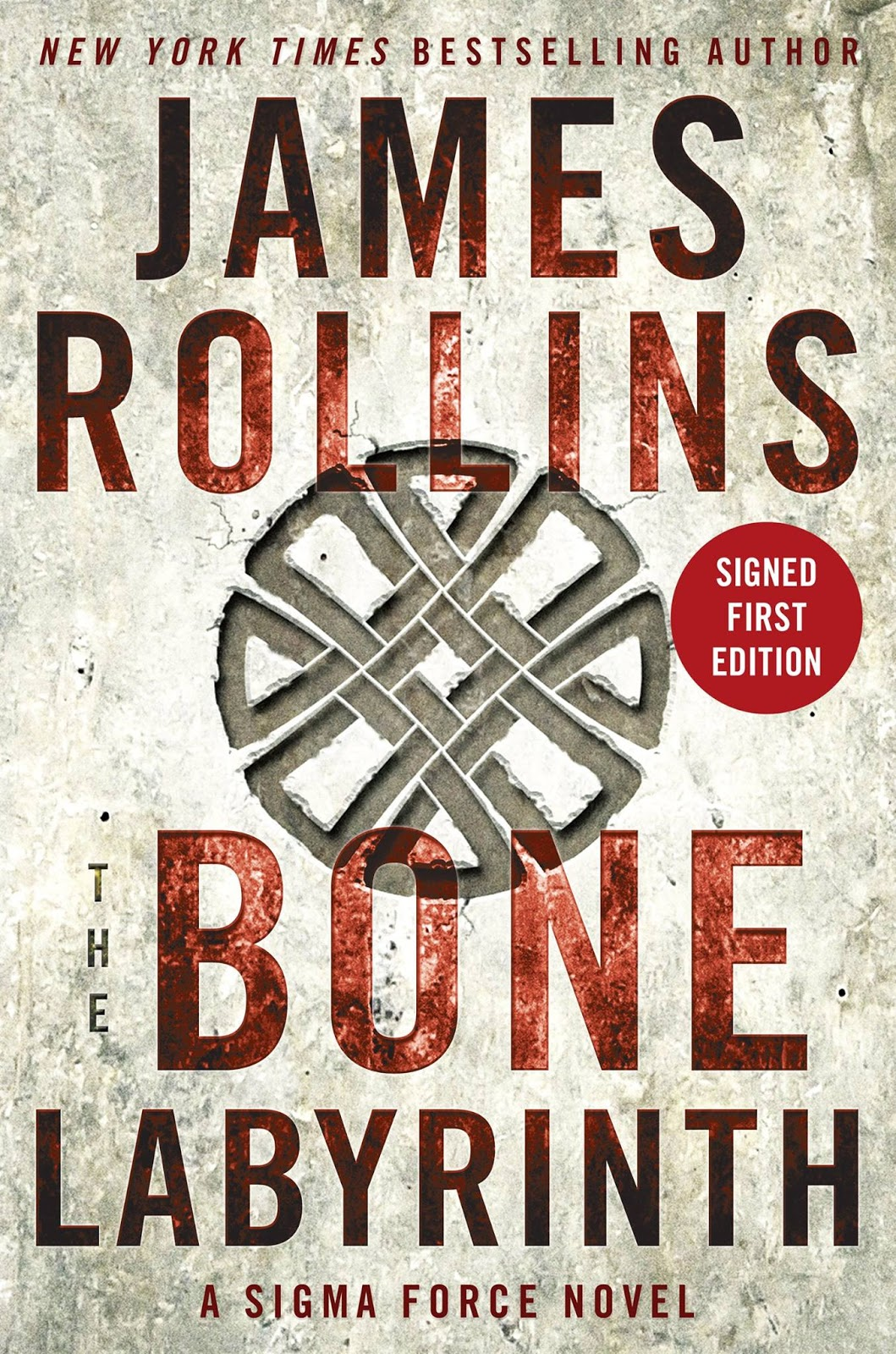 The Bone Labyrinth: A Sigma Force Novel by James Rollins
