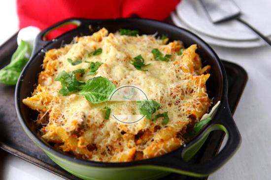 Resep Cheesy Chicken Pasta JTT