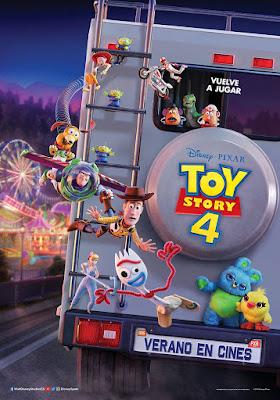 Toy Story 4 - Poster españa
