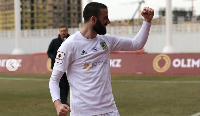 Intervju sa Aleksom Amanovićem, fudbalerom koji trenutno nastupa za kazahstanski Tobol i sa ponosom na dresu nosi broj svog bloka - 45.