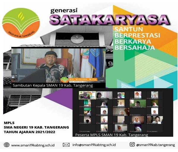 PPKM Darurat, MPLS Di SMAN 19 Kabupaten Tangerang Digelar Secara Daring